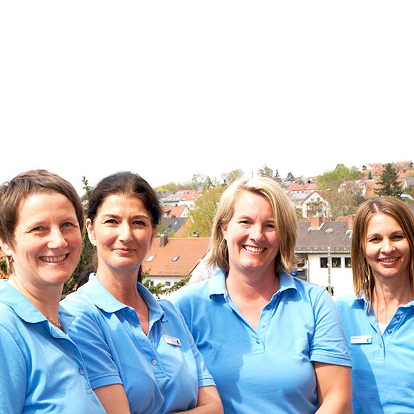 Team der Praxis Frauenärztin Christina Zauner